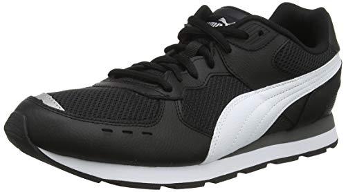 PUMA Vista Lux, Zapatillas Unisex Adulto, Black White-Castlerock, 43 EU