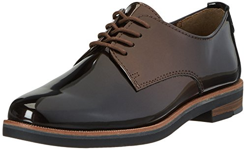 MARCO TOZZI Damen 23200 Oxfords, Braun (Mocca Patcomb), 39 EU