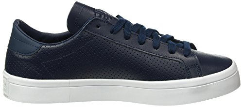 adidas Court Vantage, Scarpe Running Unisex – Adulto Blu (Collegiate Navy/Collegiate Navy/Ftwr White)