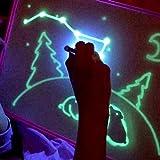 A3 / A4 / A5 Proglam Sketchpad Magique Lumineux Planche À Dessin Conseil Tablet Set Early Educational Drôle Enfants Écriture Jouets (A3)...