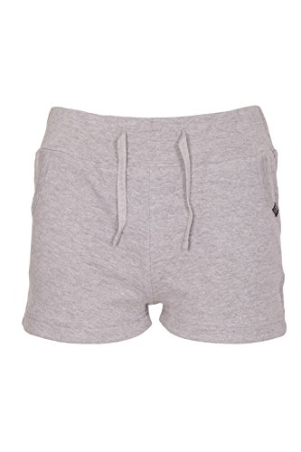 Womens Casual Summer Holiday Cotton Shorts (Grey, 8)