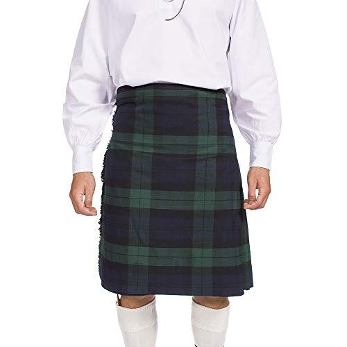 93274d13952 Escocia Kilt Company 8 Patio Tartán Escocés Falda Escocesa - Free Pin Kilt  - Reloj Negro