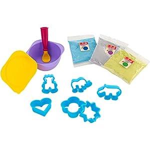 Kidea- CREA Pasta para modelar, 6 moldes (Globo 38341)