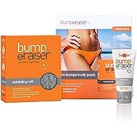 Sunzze Bump eRaiser Vorteilspaket mit medipaste und Peelinghandschuhe. Beugen Sie Pickel und eingewachsenen Haare vor. Für die Nachbehandlung nach dem Waxing