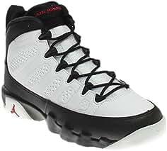 new concept bb32d 59337 Nike Air Jordan 9 Retro BG Black   White Jungen Basketballschuhe Sneaker  schwarz.