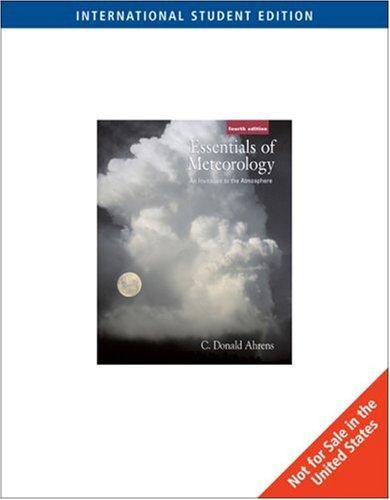 Essential of Meteorology (ISE)