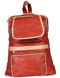 15143: Howdy Women Leather Handbags (Brown)