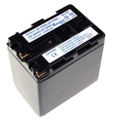 Goeke Batterien Connect 3000 Kamera Akku Li - Ion 4200 mAh 7.2 V für SONY DCR-PC 100E