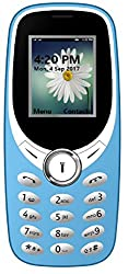 I KALL K31 Dual Sim 1.8 Inch Display Basic Feature Mobile Phone with Bluetooth, GPRS, FM radios, Flash Light and 1000 mah battery capacity- Light Blue