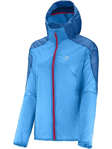 Salomon Fast Wing Hooded Vestee Course à Pied - SS15 blue