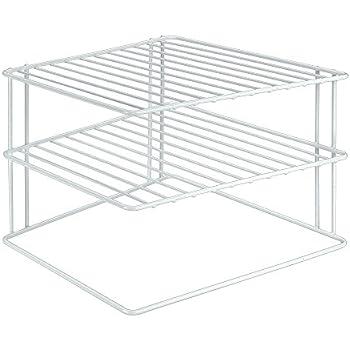 k chenregal f r teller eck schrankeinsatz 2 etagen 1 etage k che haushalt. Black Bedroom Furniture Sets. Home Design Ideas