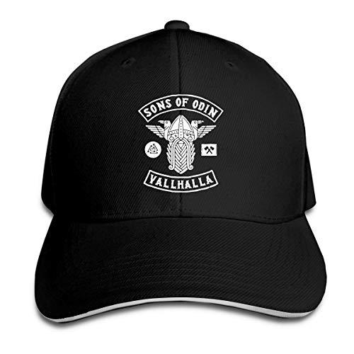 XCOZU Baseball Cap-Sons Of Odin Valhalla Kappe Für Herren Und Damen,Verstellbar...
