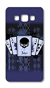 Samsung Galaxy A7 2015 Designer Hard-Plastic Phone Cover from Print Opera - Four Ace With Joker
