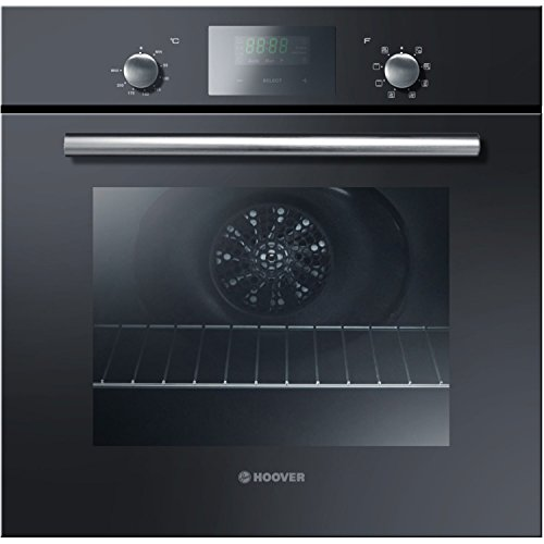 Hoover HOC709/6BX Multi-Function Electric Built-in Single Fan Oven with Hydro Steam Clean – Black