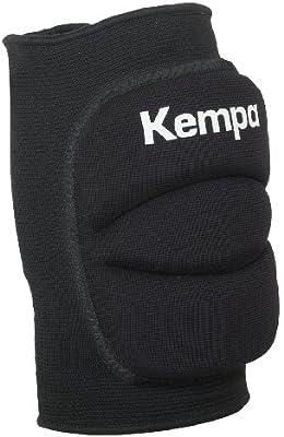 Kempa - Rodillera indoor, Black (1 par - 2 unidades)