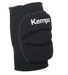 Kempa Knie Indoor Protektor Gepolstert Knieschoner, schwarz, S