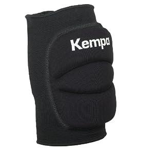 Kempa Kinder Knie Indoor Protektor Gepolstert, schwarz