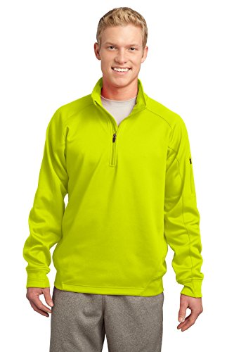 Sport-Tek Men's Tech Fleece 1/4 Zip Colorfast Pullover Dry Tech 1/4 Zip Pullover