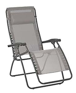 Lafuma relax liegestuhl klappbar und verstellbar rsxa - Lafuma relax liegestuhl ...