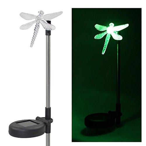 Papillon solaire Piquet de jardin lumière extérieur Piquet sur pelouse lampe à changement de couleur