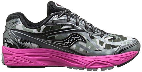 Saucony Women's Ride 8 Gtx Running Shoe,White/Black/Pink,5.5 M US White/Black/Pink