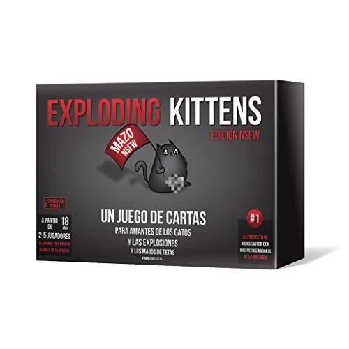 Exploding Kittens NSFW Asmodee EKEK02ES
