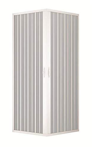 Box Doccia 70x70 PVC MOD. Acquario con Apertura Centrale
