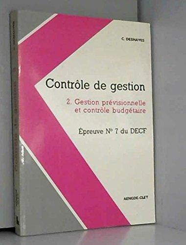 Controle de gestion decf t2 (epreuve n›7)