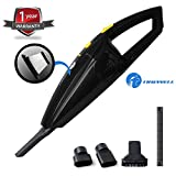 Tirewell TW9001 Car Vacuum Cleaner with HEPA Filter 120W 12V Wet Dry Portable