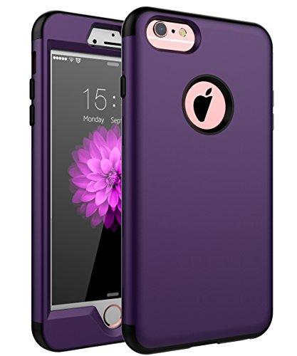 iPhone 6Plus Case, iPhone 6S Plus Fall, skylmw DREI Schicht Heavy Duty High Impact Resistant Hybrid Schutzhülle Case für iPhone 6Plus/6S Plus (nur für 14cm) (Hybrid Case 6plus Iphone)