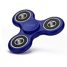 Fidget Tri (dreifach) Spinner Special Version mit 4 Hochleistungs Kugellagern Anti Stress Kreisel Hand Spielzeug in Blau von VAPIAO