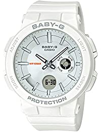 Casio Analog-Digital Silver Dial Women's Watch-BGA-255-7ADR (BX156)