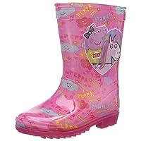 Peppa Pig Girls Wellington Rain Boots Wellys