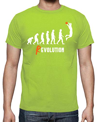tostadora - T-Shirt Revolution Korb - Manner Pistazie XXL -