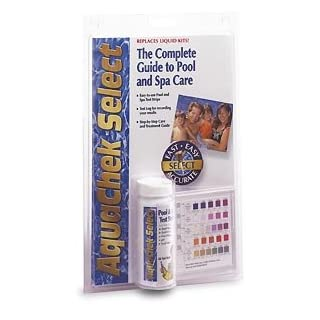 AquaChek 541604 Select 7-in-1 Pool or Spa Test Strips Complete Kit 541604A