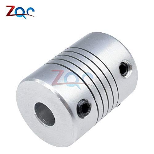 D19L25 flexible Wellen Kupplung CNC-Schritt Motor-Kuppler-Stecker 8mm bis 10mm 8mmx10mm Kupplungs Geräte 3-10mm VEG93 P