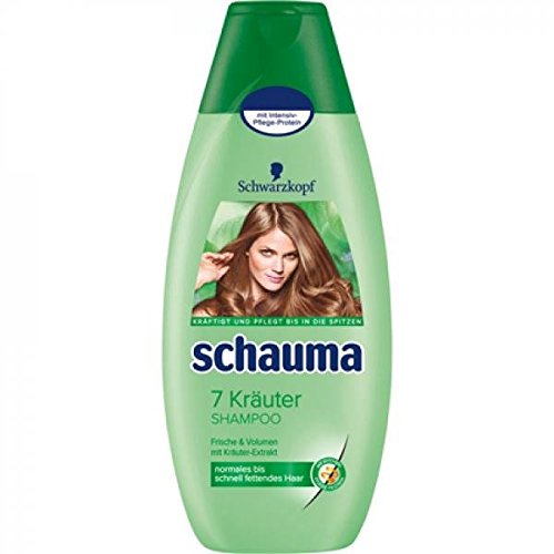 Schauma 7 Kräuter Shampoo, 1er Pack (1 x 400 ml)