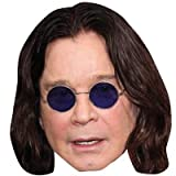 Ozzy Osbourne Maske aus Pappe