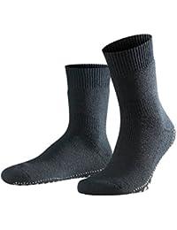 FALKE Herren anti-rutsch Socken Homepads Stoppersocken - Baumwollmischung, 1 Paar, versch. Farben, Größe  35-50 - Rutschfeste Silikon-Noppen