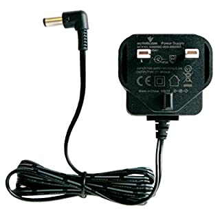 MyVolts 9V power supply adaptor compatible with Roland ACA-230ET PSU part - UK plug