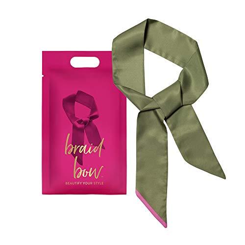 Pony Puffin braid bow poison ivy