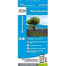 Mont Ventoux  1 : 25 000