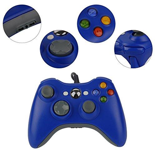 Control Pad Controller Xbox One Wired USB Microsoft rot blau schwarz NEU Blau