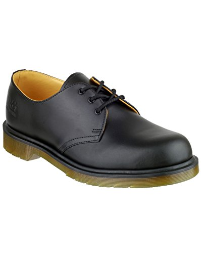 ... B8249 Up Black Leather Shoes Noir Non Safety Dr Mens Lace Martens  qw8F77Pf ... 203961b8837