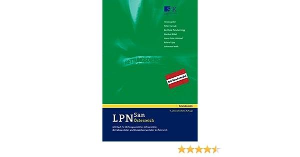 LPN-San Österreich: Lehrbuch für Rettungssanitäter, Lehrsanitäter ... | {Betriebssanitäter logo 96}