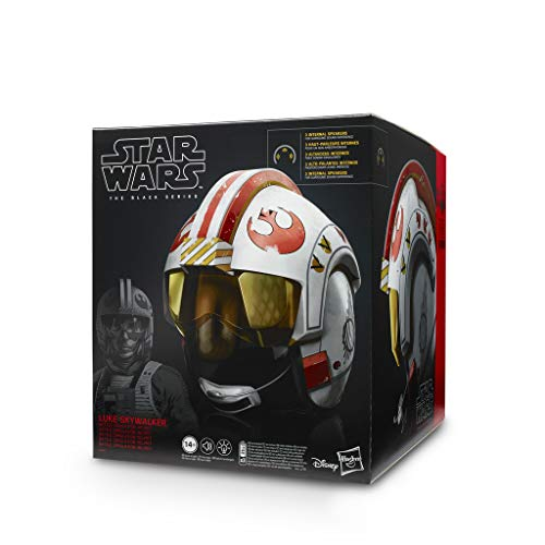 Star Wars E5805EW0 The Black Series Luke Skywalker Battle Simulations-Helm, Multicolor
