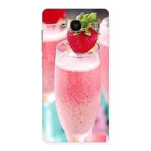 Impressive Strawberry Shake Back Case Cover for Redmi 2s