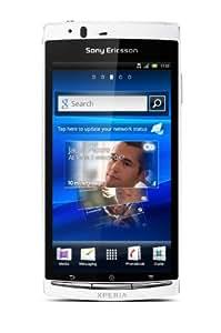 """Sony Ericsson Xperia arc S Smartphone Écran tactile 10,7 cm (4,2"""") Appareil photo 8,1 Mpx Android 2.3 Mémoire interne 1 Go Blanc pur (Import Allemagne)"""