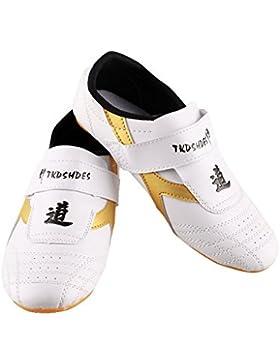 Zapatillas de Taekwondo Cómodos Antideslizantes Zapatillas Deportivos de Taekwondo Kung Fu Tai Chi ( tamaño :...