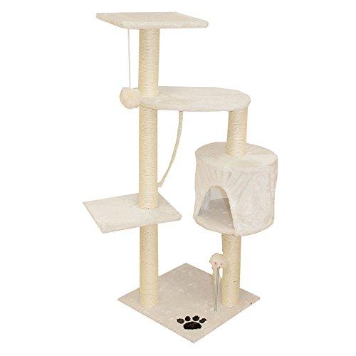 Produktabbildung von Sam´s Pet Kratzbaum Polly - Höhe: 113 cm - weiß